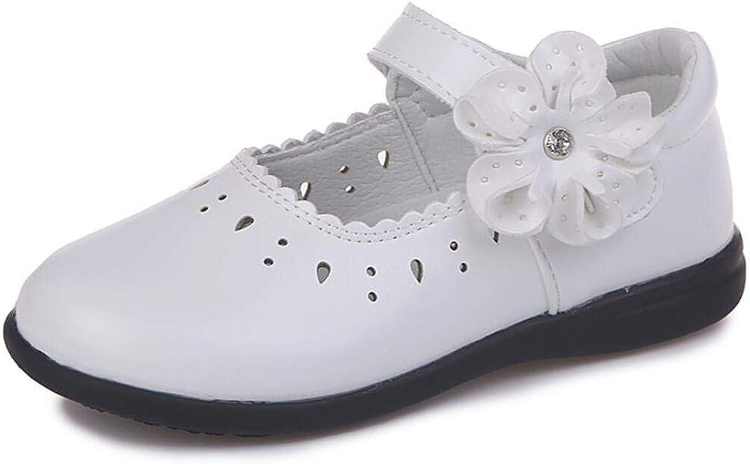 JGKDTX Girls Shoes Mary Jane Ballerina Ballet Flat Princess Party Dress Shoe(Toddler/Little Kids)