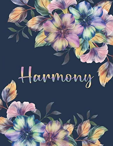 HARMONY: All Events Floral Name Gift for Harmony, Love Present for Harmony...