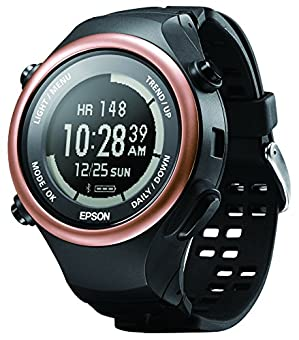 [エプソン] 腕時計 PS-600C ブラック