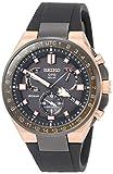 [セイコーウォッチ] 腕時計 アストロン GPSソーラー電波 EXECTIVE SPORTS LINE チタンモデル ブラック文字盤 SBXB170 メンズ ブラック