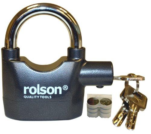 Rolson 66857 Alarmgesichertes Vorhängeschloss