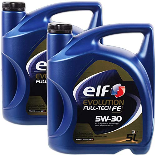 aceite motor ELF EVOLUTION Full-Tech FE 5W-30 5 litros (10 ltrs = 2 x 5 L)
