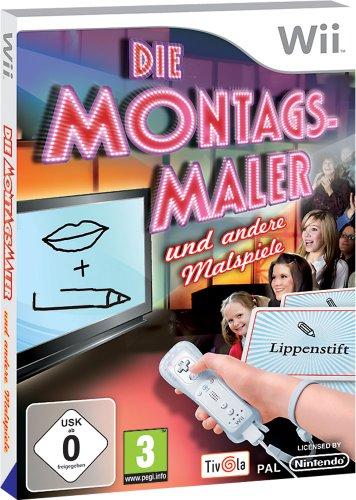 Die Montagsmaler und andere Malspiele - [Nintendo Wii]
