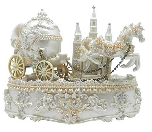 Cinderella kutsch metall bonbondoses hochzeitsfeier geburtsta rose WS6