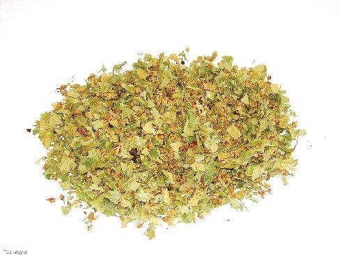 Lindenblüten Silber geschnitten 1 kg Vorratspack TEE Tee-Meyer