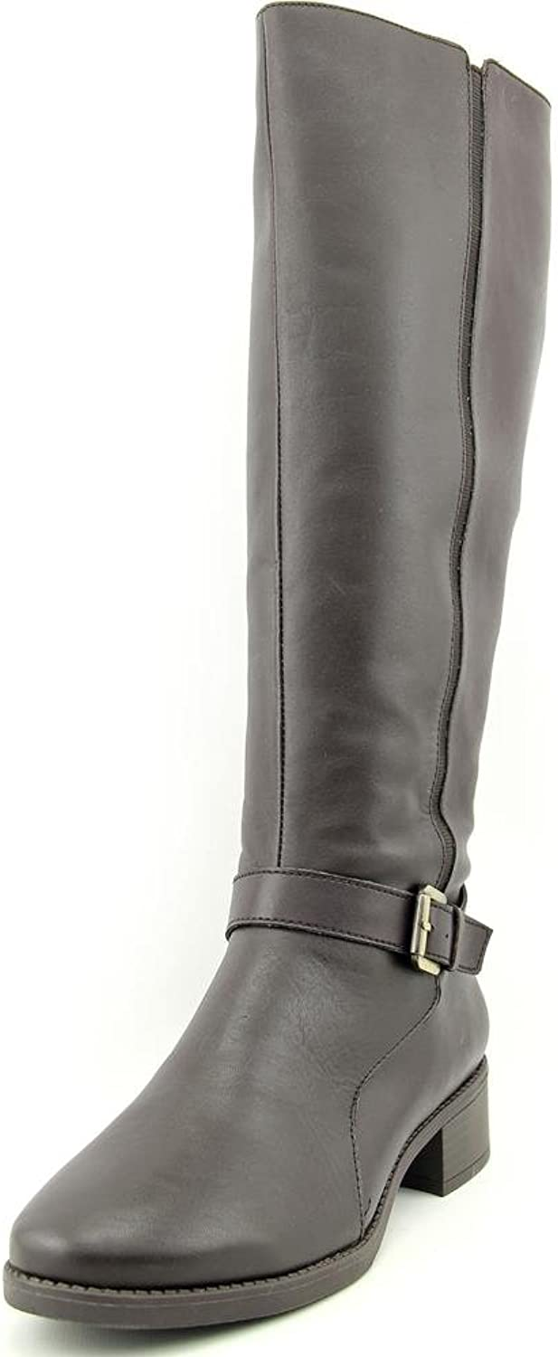 Easy Spirit Nadette Women US 6.5 Brown Knee High Boot