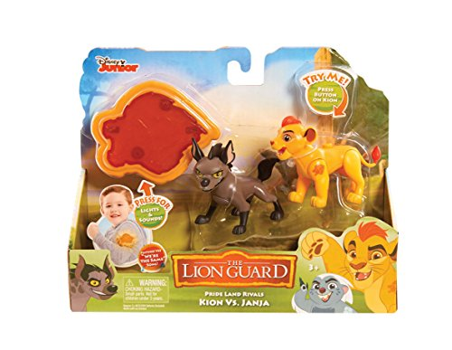 Lion Guard Rival 2 Figures – Kion vs Janja