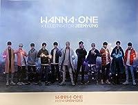 ワナーワン Wanna One 1÷χ=1 UNDIVIDED [Art Book ver.] OFFICIAL POSTER サイズ 60 x 45 cm [ポスター専用ケース] [韓国製]