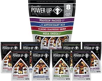 Power Up Trail Mix, Mega Omega Trail Mix, Non-GMO, Vegan, Gluten Free, No Artificial Ingredients, Gourmet Nut