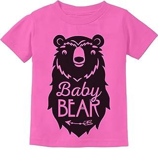 Baby Bear Cute Gift Little Girl Boy Sibling Family Infant Kids T-Shirt