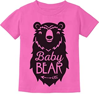 Baby Bear Cute Gift Little Girl Boy Sibling Family Infant Kids T-Shirt