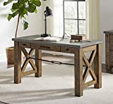 "Martin Furniture IMJA384 54"" Writing Desk, Brown"