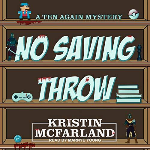 No Saving Throw audiobook cover art