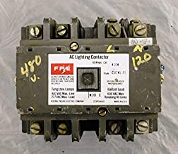 Federal Pacific 4104 Contactor, 100 Amp, 3 Pole, 480 VAC Coil