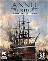 Anno 1800 Full Game Season 1 Pass, which includes three DLCs: Sunken Treasures, Botanica, and The Passage Season 2 Pass, which includes three upcoming DLCs: - Seat of Power: Show off the power of your city with a prestigious palace and boost your eco...