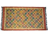Brigitte von Boch - Kelimteppich 180 x 270 cm Verschiedene Mustervarianten, Farbe:Multi Color 01