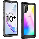 Temdan New Designed for Waterproof Samsung Galaxy Note 10 Plus Case,Clear Sound Quality Built in Screen Protector with Fingerprint ID Film IP68 Waterproof case for Samsung Galaxy Note 10 plus/5G 2019