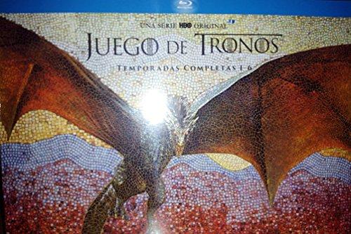 Pack Juego de Tronos Edición Coleccionista Temporadas 1-6 Blu-ray con figura del Rey de la Noche