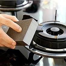 Spiderjuice, Multipurpose Brown Color Hard Surface Like Sand Paper Magic Scrub Sponge Deep Cleaner Eraser Kitchen Tool (Pack Of 1)