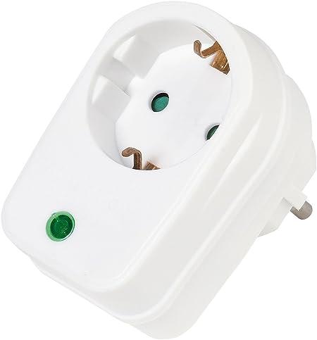 Vivanco Überspannungsschutzadapter Mit Kindersicherung Elektronik