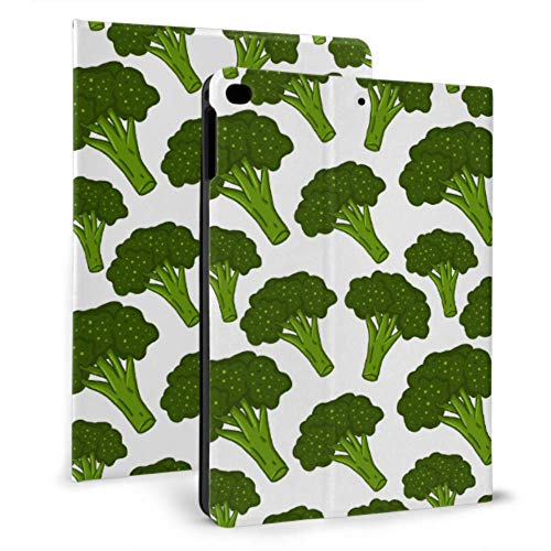 Ipad Case Shockproof Little Green Broccoli Pretty Health Ipad Case Protection For Ipad Mini 4/mini 5/2018 6th/2017 5th/air/air 2 With Auto Wake/sleep Magnetic Pretty Ipad Case