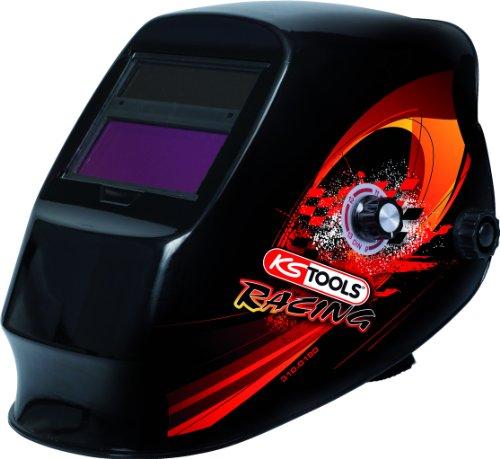 KS Tools 310.0180 - Casco protector soldadores, diseño racing