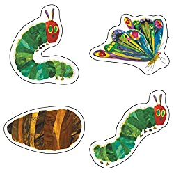 Very Hungry Caterpillar - cut outs - Eric Carle Classroom theme - Tacky the Teacher - bulletin board - locker tags - colorful