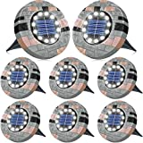 Biling 12 LEDs Luce Solare da Giardino, Luci da Giardino Solari Luminose per Esterni, Luci...