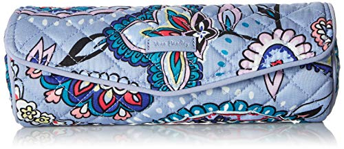 Vera Bradley Women#039s Signature Cotton On a Roll Cosmetic Case Makani Paisley One Size