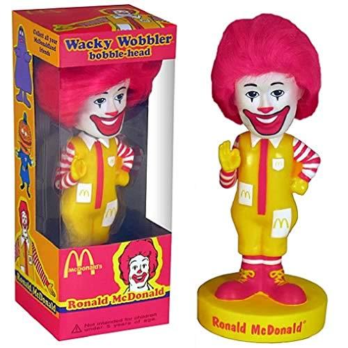 Wacky Wobbler Ronald Mcdonald Cabezon PVC ca 15cm de Funko