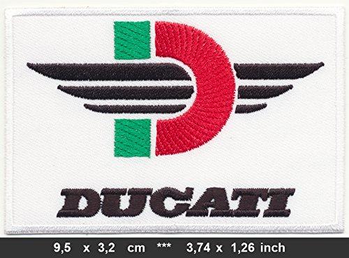 Parche Ducati Parche termoadhesivo Ropa Moto Monster
