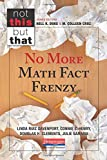 No More Math Fact Frenzy