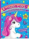Unicórnios no Reino do Arco-íris: 100 Páginas para Colorir e Atividades
