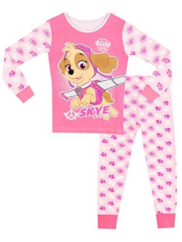 Paw Patrol Pijama para niñas La Patrulla Canina Multicolore 3-4 Años