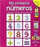Mis Primeros Números: 12 Libritos para Aprender Números, Sumas, Restas... (Cofre Interactivo para Aprender)