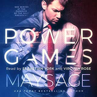 Power Games audiobook cover art