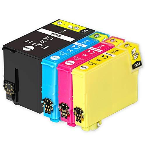 Go Inks Compatible Cartuchos de Tinta para reemplazar Epson 27 & 27XL Serie Non-OEM *Nueva Versi�n* (4 Tintas)