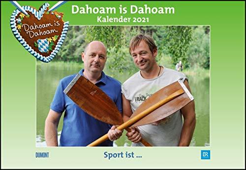 Fernsehserie Dahoam is Dahoam - Kalender 2021 - DuMont-Verlag - BR Broschurkalender mit Platz für Eintragungen - 42 cm x 29 cm (offen 42 cm x 58cm)