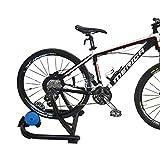 Joyfitness Soporte de Ejercicios para Ciclistas de Interior con Cambio de Resistencia Portátil Entrenador de fluidos,Black