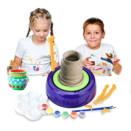 IAMGlobal Pottery Wheel, Art Craft Kit, DIY Pottery Studio, Craft...