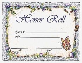 Honor Roll Award Certificate