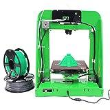 Aibecy TNICE T-23 3D Drucker DIY Kit mit Einzelextruder LCD Display 190 * 190 * 200mm Hohe Genauigkeit 0.4mm Düsendurchmesser mit 5 Rollen 1.75mm PLA Filamente (Gesamt 100m)