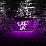 30cm * 19cm Estilo Vintage Pin Up Girl Garage Publicidad Custom LED Neon Sign Car Auto Shop Rectangl...