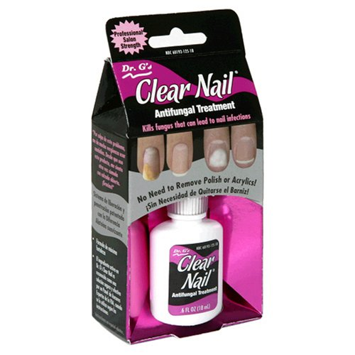 Dr. G's Clear Nail Antifungal Treatment, 0.5-Ounce Bottles (Pack of 2)