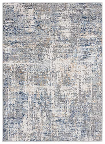United Weavers of America, Austin Elegance Blue Indoor Accent Rug – 7 ft. 10 in. x 10 ft. 6 in., Blue Modern Rug for Interiors. Rugs & Carpets