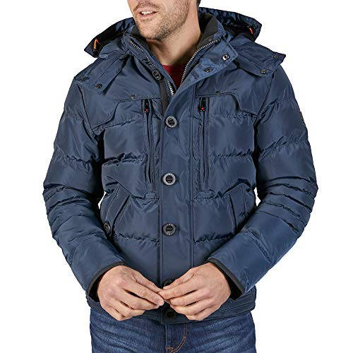 Wellensteyn Starstream Steppjacke Winterjacke Herren blau - XXL