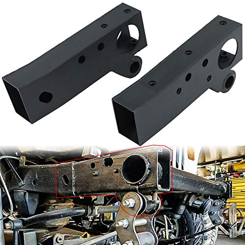 Mountainpeak Front Shackle and Steering Box Mount Section Fit For 1987-1995 Jeep Wrangler YJ, Left and Right Frame Rust Repair Replacement