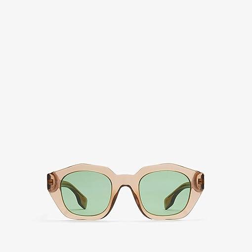 Transparent Brown/Dark Green