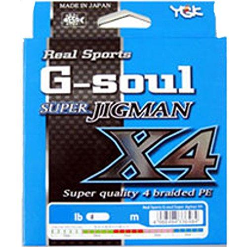 YGK G-Soul Super JIGMAN X4 600m Slow Style No. 2 (30lb)
