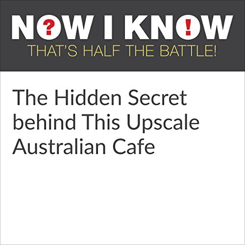 The Hidden Secret Behind This Upscale Australian Cafe cover art